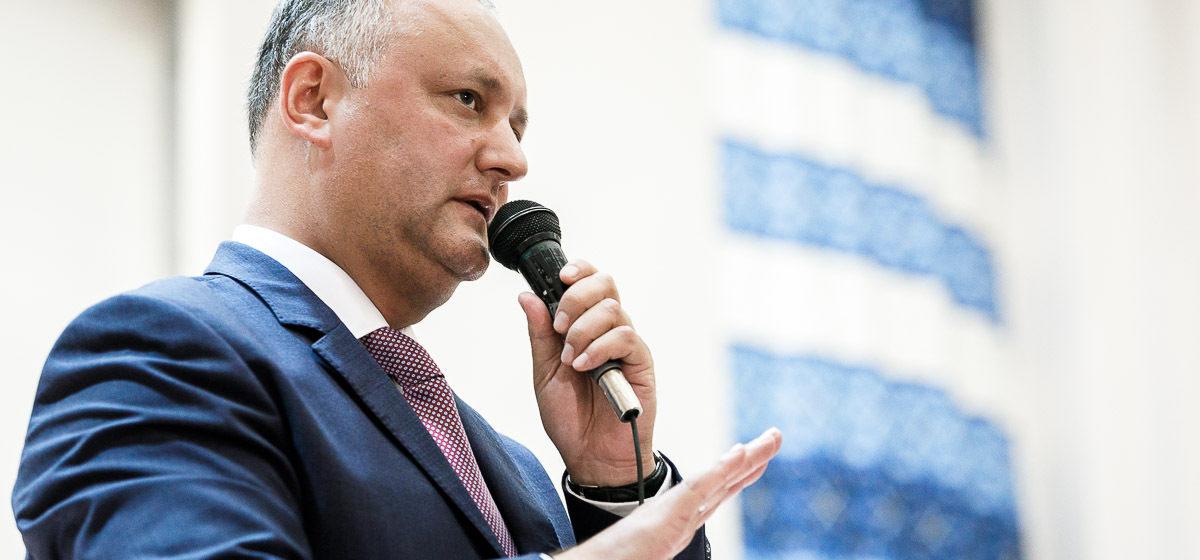 Президент Молдовы: Нам нужны такие же экономика, порядок и жесткая вертикаль, как в Беларуси