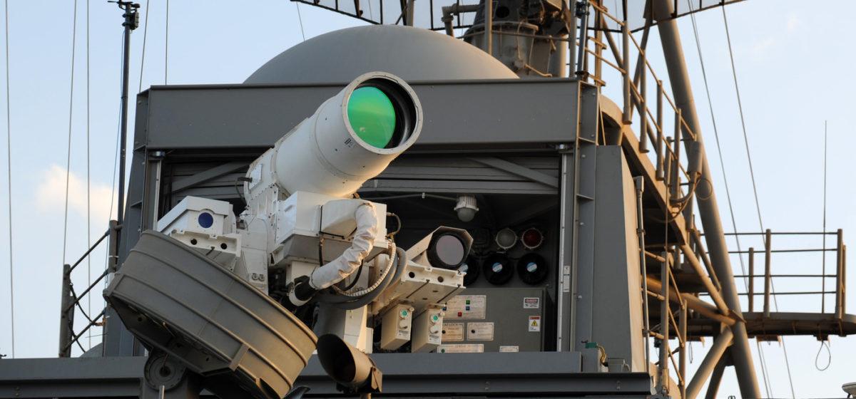 ВМФ США впервые из лазерного оружия сжег беспилотник (видео)