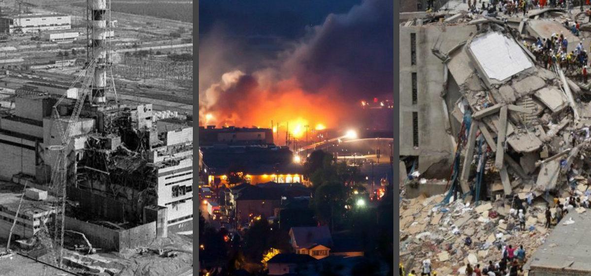 Топ-10 самых страшных техногенных катастроф в истории человечества