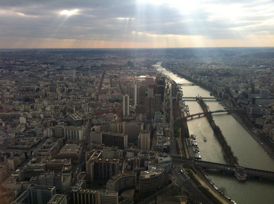 Париж с высоты птичьего полета. Фото: архив Сергея ФИЛИМОНЮКА