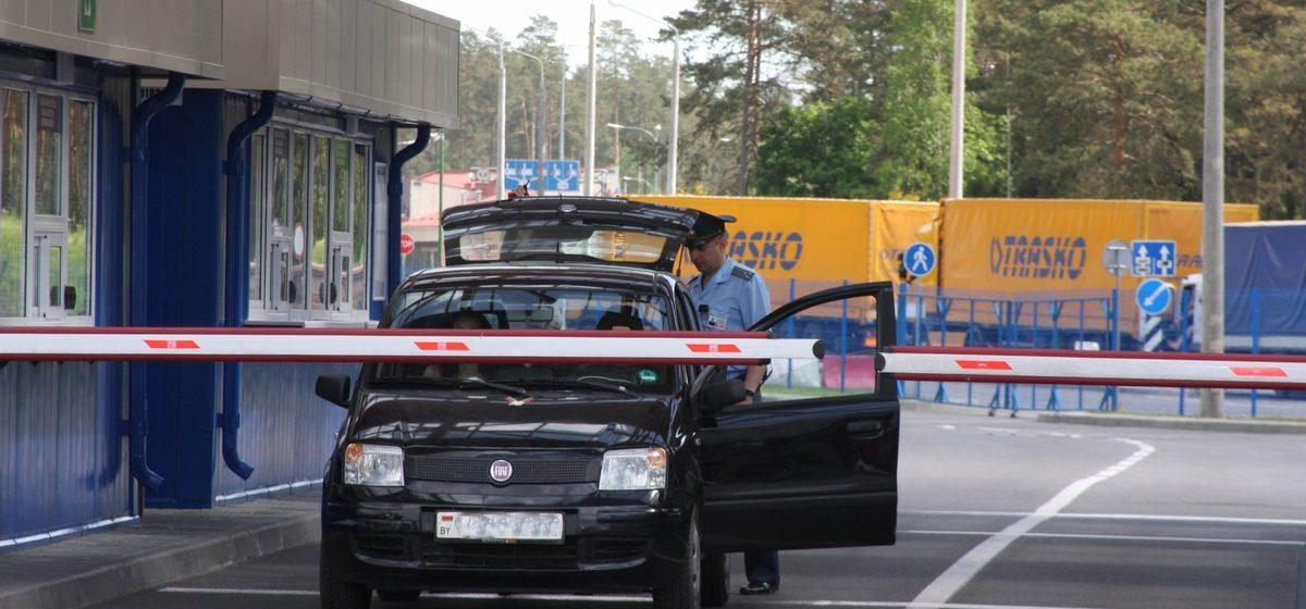 На границе с Литвой 9 июля два часа не будут пропускать легковушки