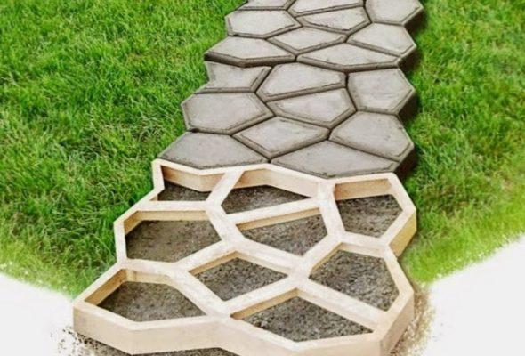 Высококачественные формы для садовых дорожек