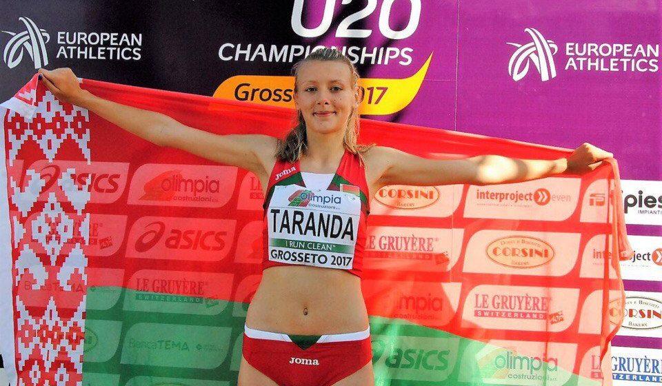 Барановичская легкоатлетка завоевала серебро чемпионата Европы среди юниоров