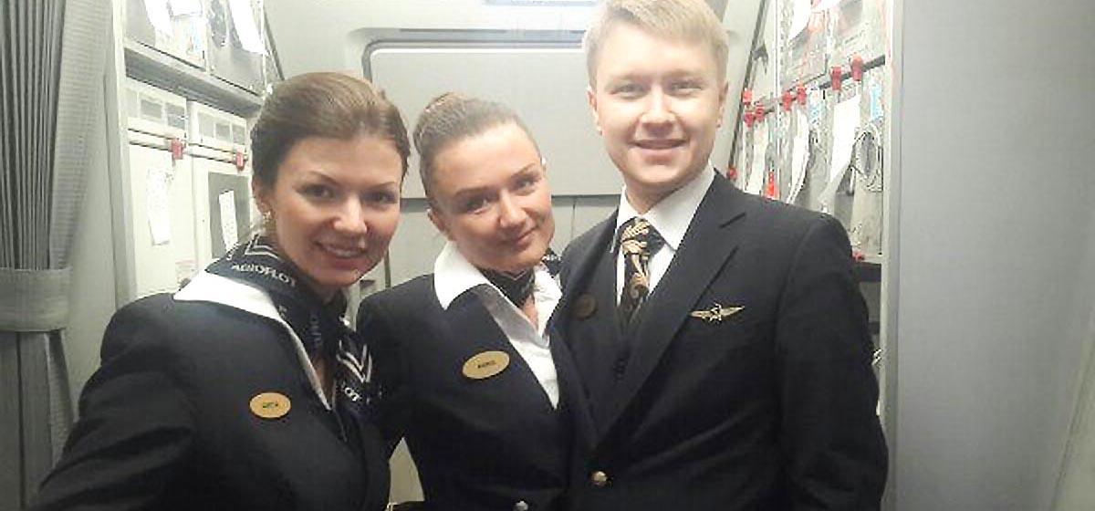 «Вечером в Москве, утром – в Хабаровске». Жительница Барановичей рассказала о своей работе стюардессой
