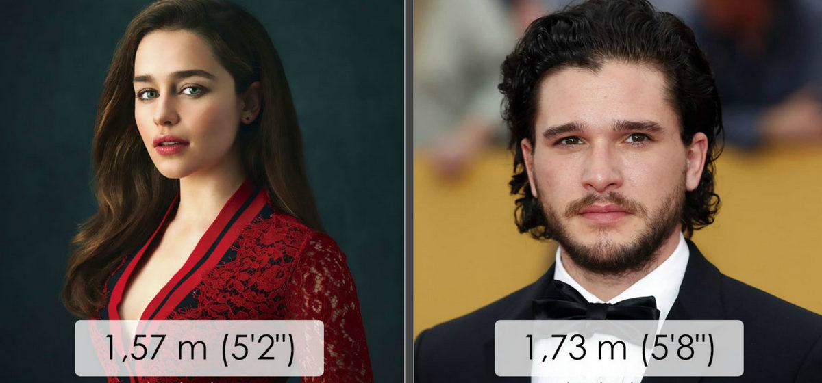 «Игра Престолов»: как выглядят актеры в реальной жизни и какой у них рост