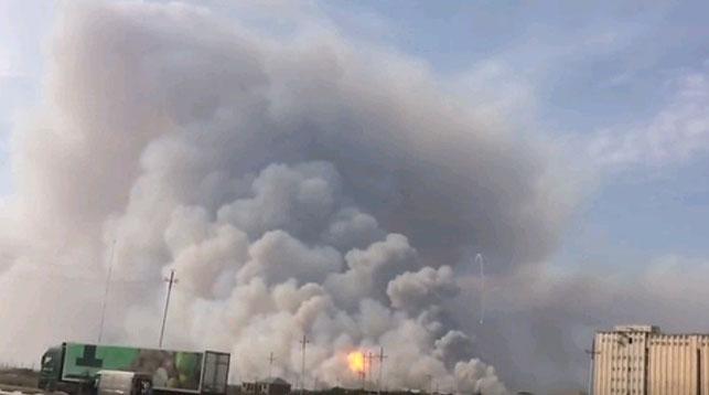 В Азербайджане при взрыве на оружейном складе пострадали шесть человек