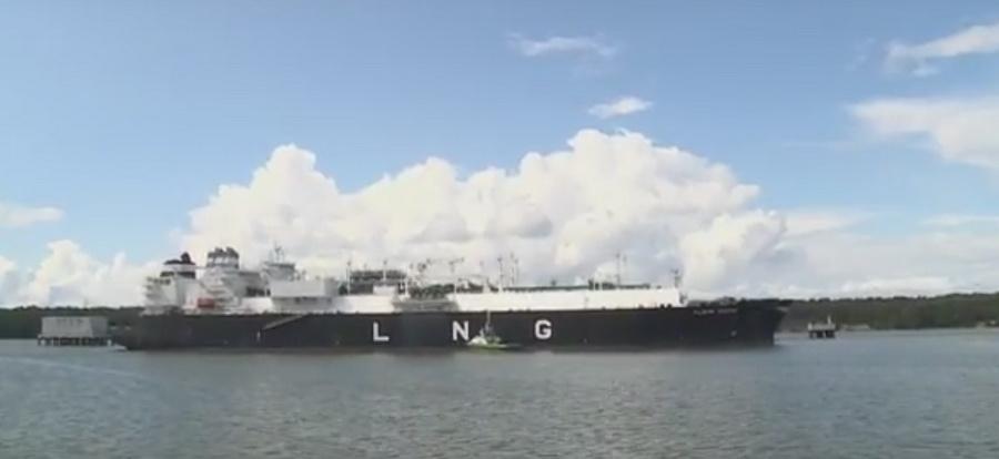 В Литву из США прибыла первая партия сжиженного природного газа