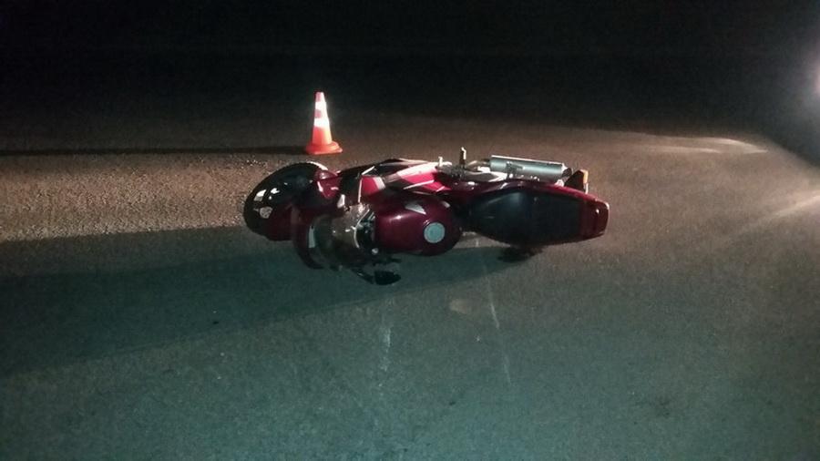 В Могилеве байкер попал в аварию из-за «лежачего полицейского»