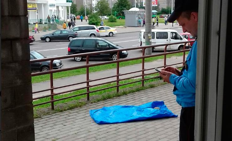 В Минске сбросили собаку с пятого этажа