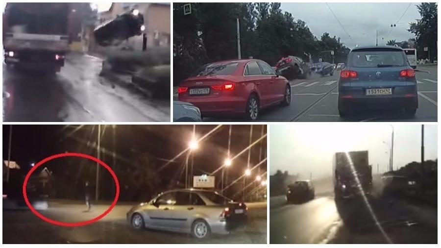 ТОП-7 жутких ДТП за август: смерть на тротуаре, встречный удар, лоб в лоб с автомобилем ДПС