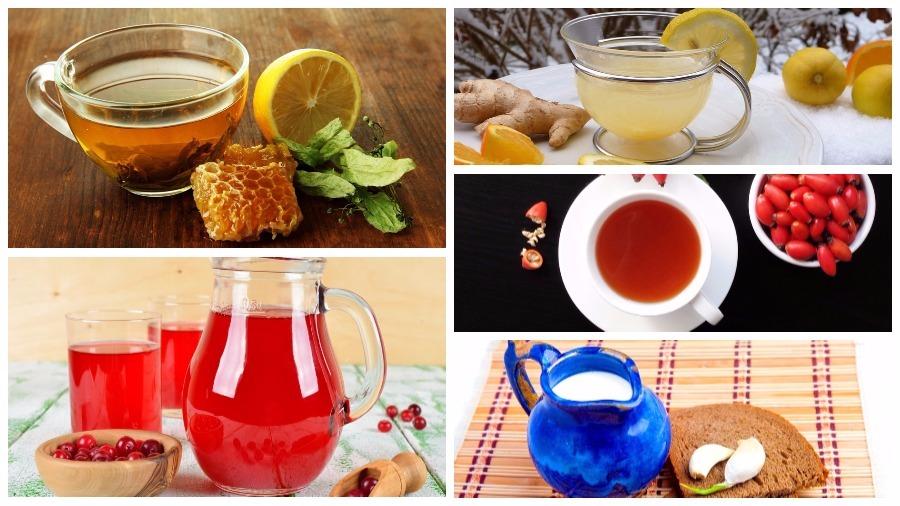 Восемь напитков, полезных при простуде