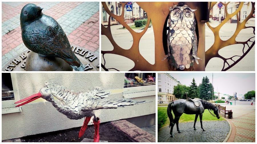 ТОП-6 скульптур зверей и птиц в Барановичах