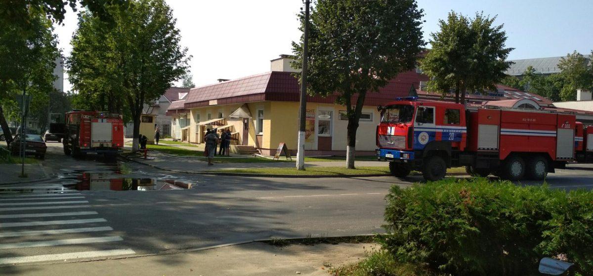 Жители Барановичей сообщают о пожаре в бане на улице Фабричной