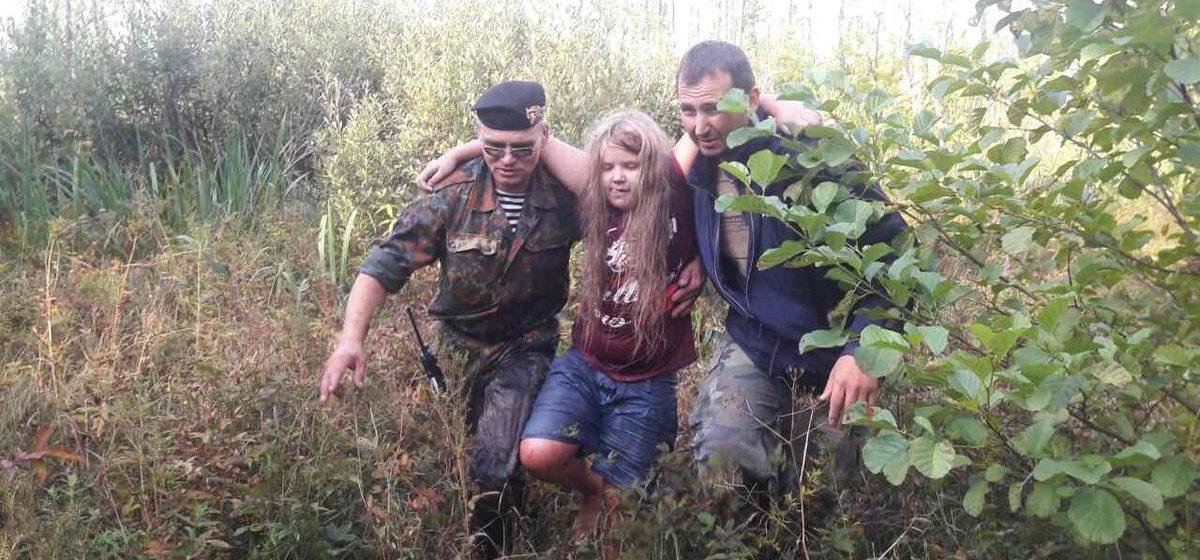 В Мядельском районе нашли пропавшую в лесу 9-летнюю девочку