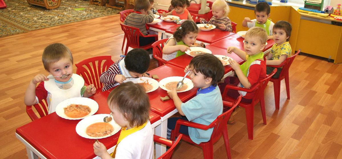 Сколько будет стоить в сентябре питание в детсадах