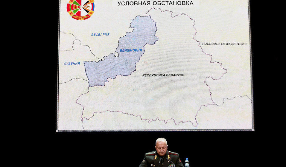 «Вейшнория», «Весбария» и «Лубен» нападут на Беларусь – военные раскрыли сценарий учений «Запад-2017»