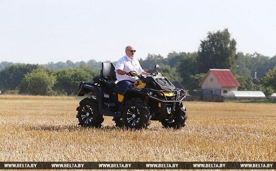 Сколько стоит квадроцикл Лукашенко