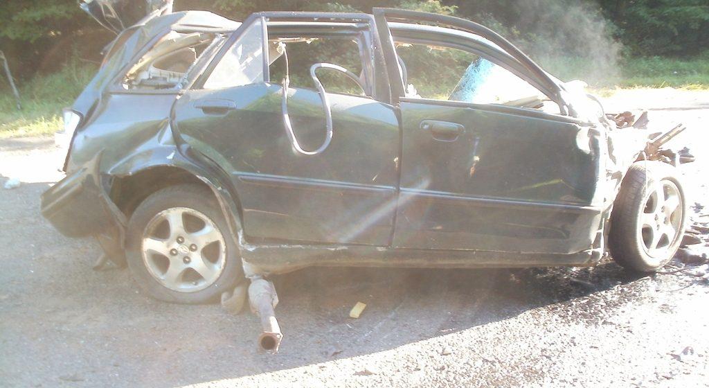 В Копыльском районе столкнулись Mazda и КамАЗ, один человек погиб