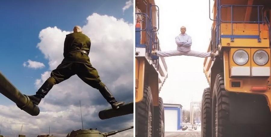 Кто сел на шпагат между танками вместо Александра Солодухи