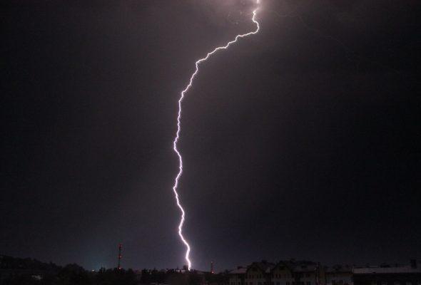 На Браславских озерах от разряда молнии погибла 39-летняя женщина