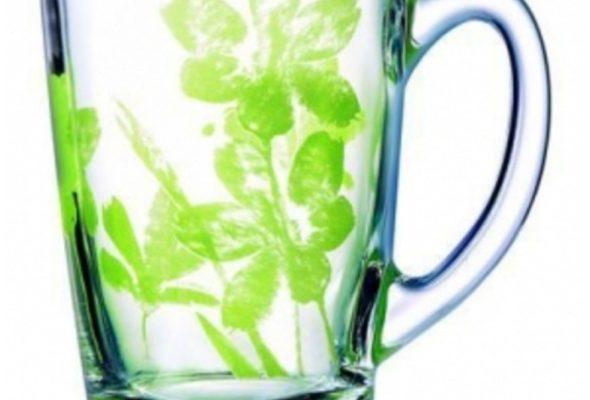 Стеклянные и керамические чашки с логотипом