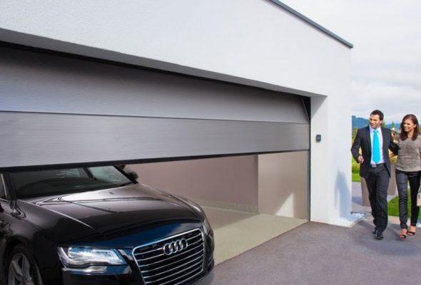 Надежные автоматические гаражные ворота от компании Альфа-дом