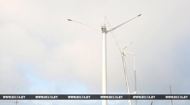 В Новогрудском районе заработала самая мощная ветроустановка в Беларуси