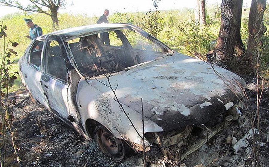 В Кричевском районе мужчина сгорел заживо в своем автомобиле