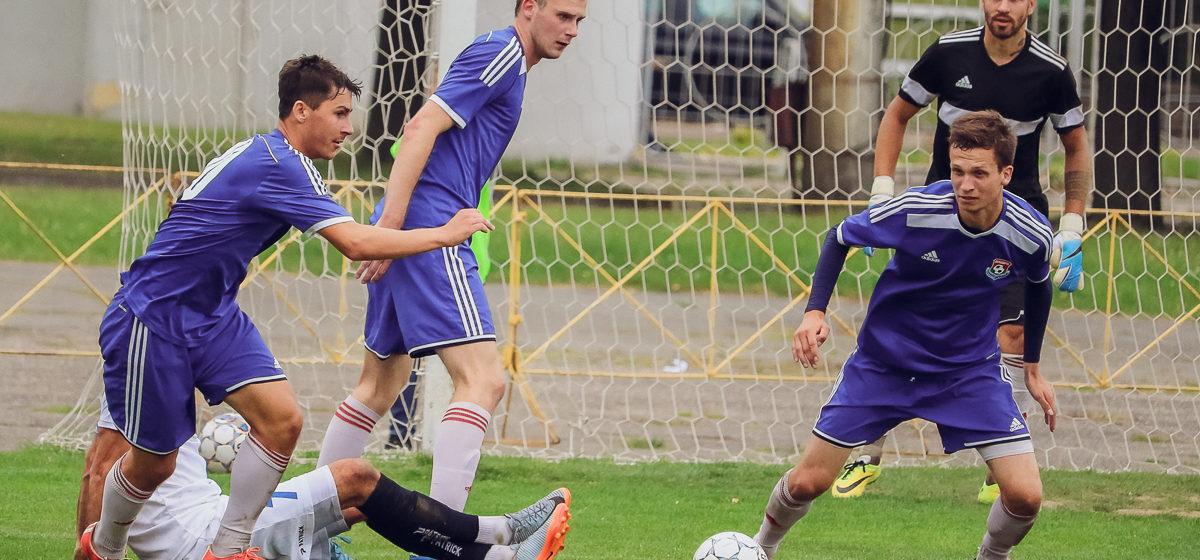 ФК «Барановичи» не удержал победу в домашнем матче с фаворитом лиги