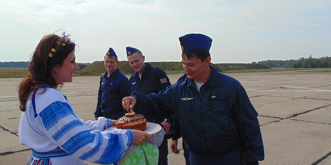 В Беларусь прибыла российская авиация (фото)