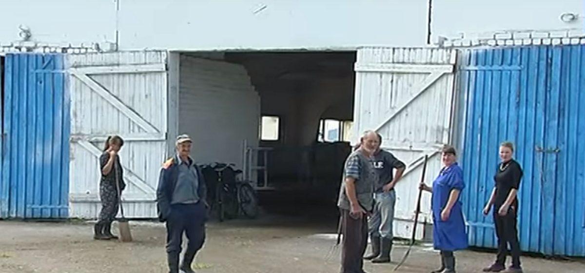 Жители деревни Утес пожаловались ОНТ на маленькую зарплату