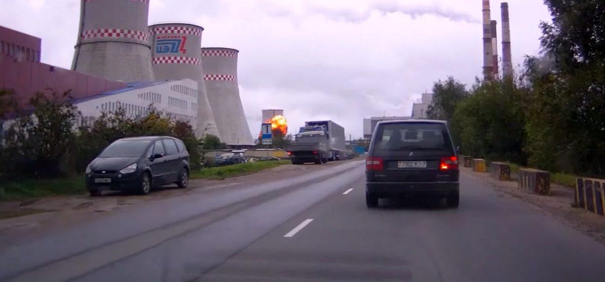 Видеофакт. Взрыв на Минской ТЭЦ