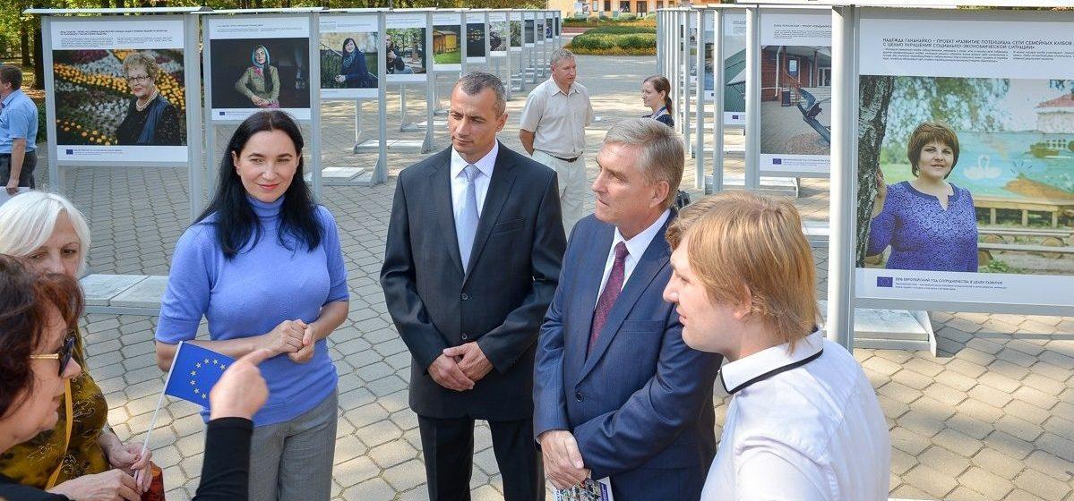 В центре Барановичей откроется фотовыставка «Проекты в лицах»