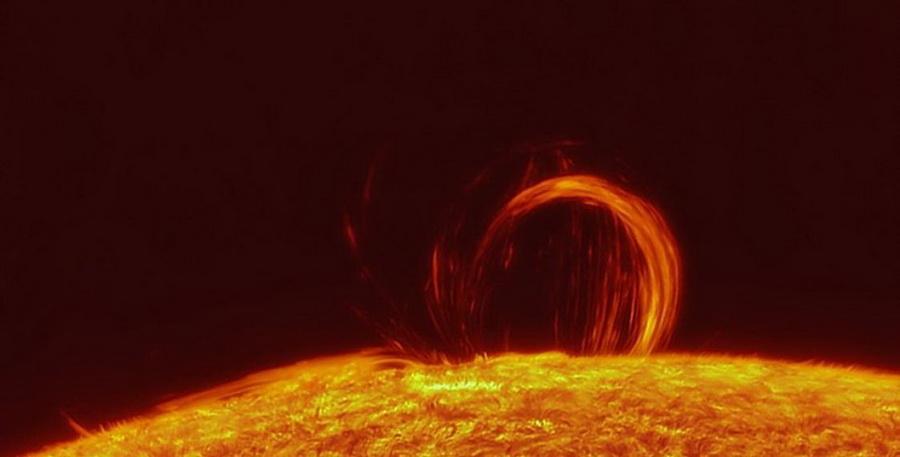 Еще одна мощная вспышка произошла на Солнце