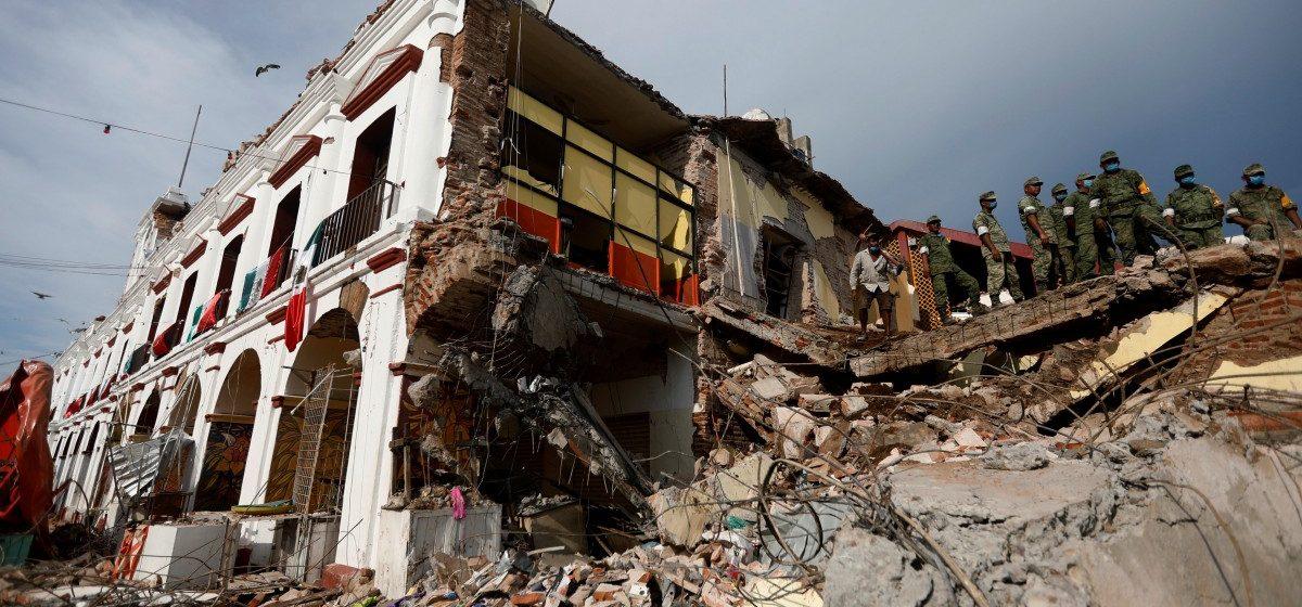 В Мексике произошло землетрясение, погибли 149 человек (видео)