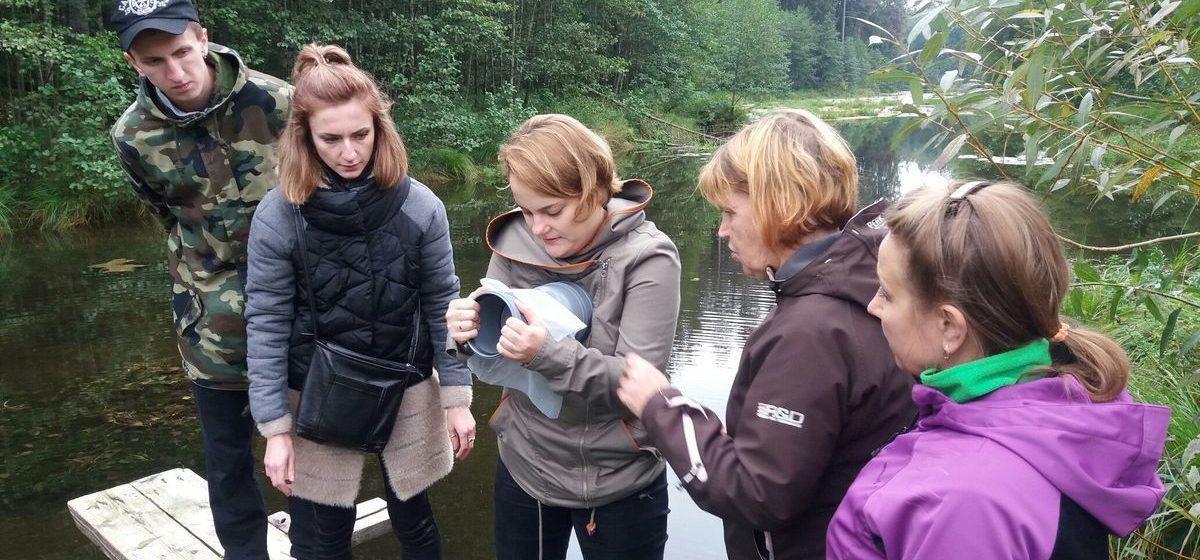 В Барановичах прошел международный экологический лагерь