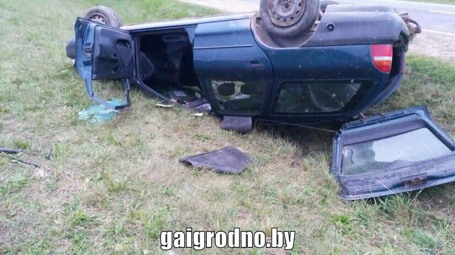Под Волковыском перевернулся Ford, водитель погиб на месте