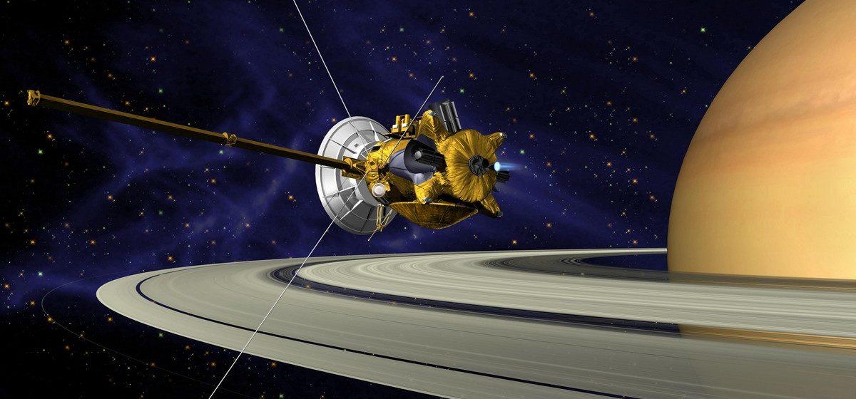 Космический зонд Cassini сгорит в атмосфере Сатурна, наблюдать за этим можно будет онлайн