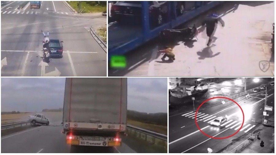 ТОП-7 ужасных аварий за сентябрь: ребенок и его ангел-хранитель, лобовое ДТП на встречке и машина смерти