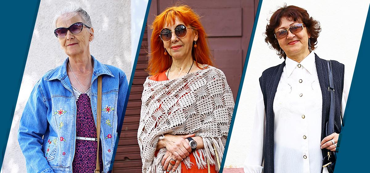Модные Барановичи: Как одеваются пенсионерки