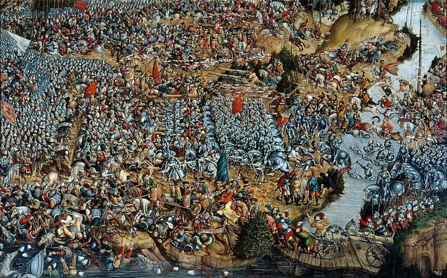 В 1514 году 8 сентября произошла Оршанская битва между войсками ВКЛ и Московского княжества