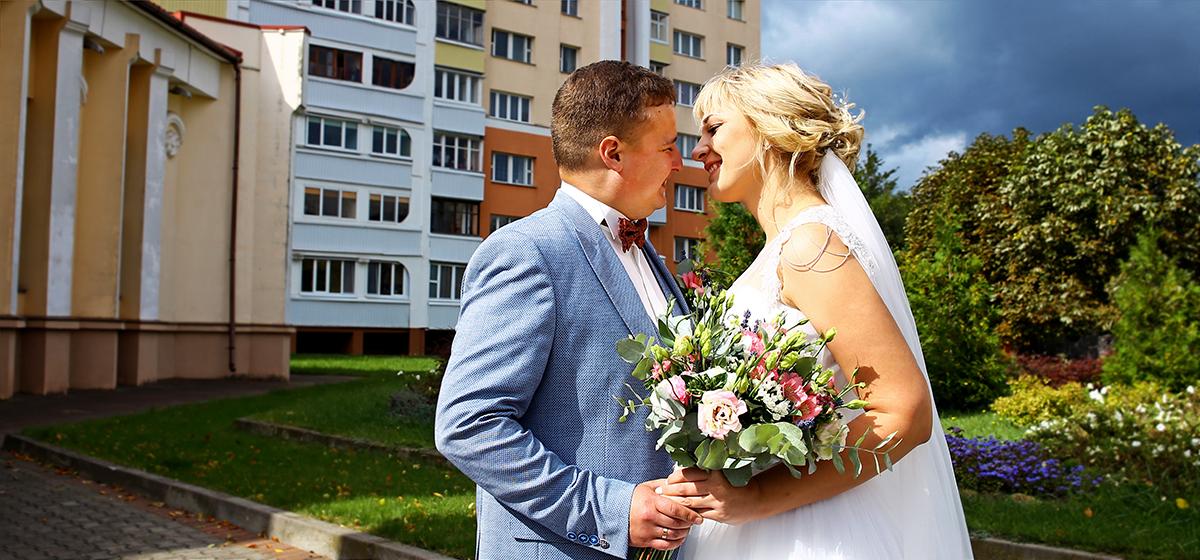 Свадебная пара недели: Алексей и Елена