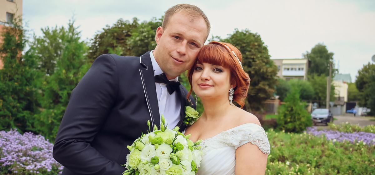 Свадебная пара недели: Сергей и Юлия