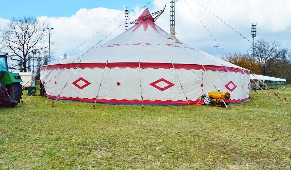 В Заславле в цирке-шапито рухнули зрительские трибуны, пострадали шесть человек