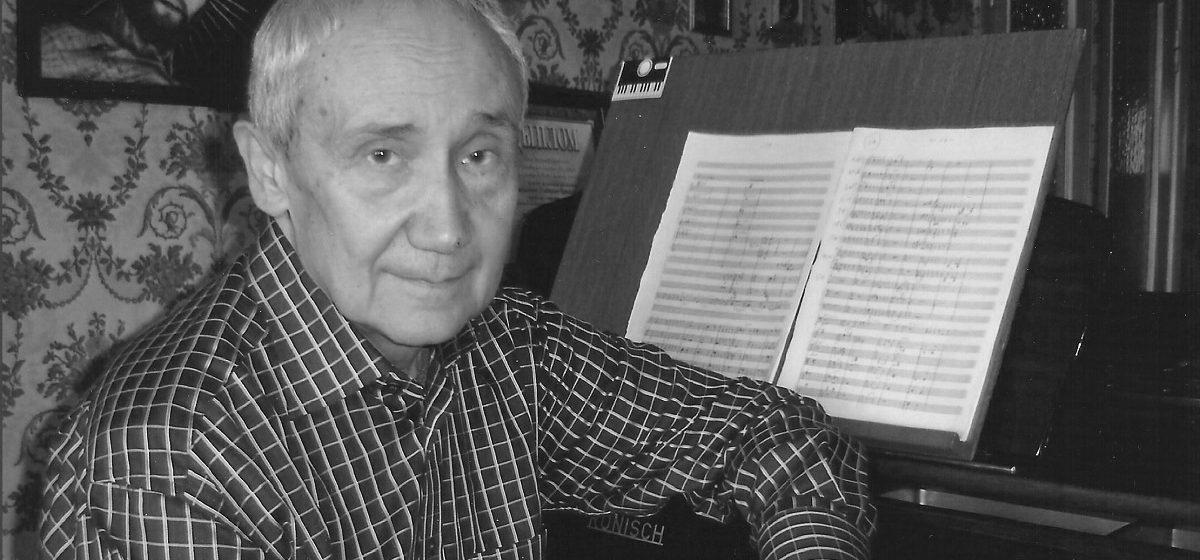 Умер белорусский композитор Дмитрий Смольский