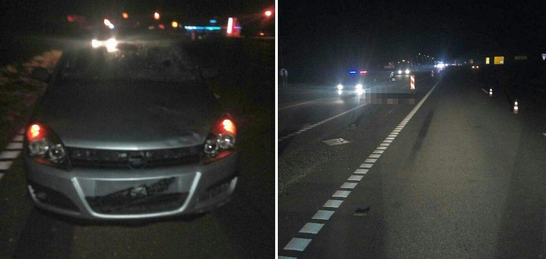 На Витебщине Opel насмерть сбил пешехода