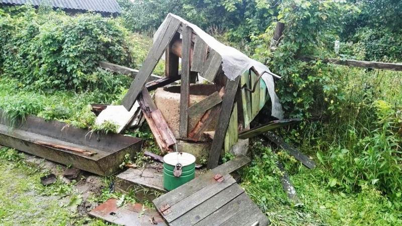 В Свислочском районе взорвался колодец с питьевой водой