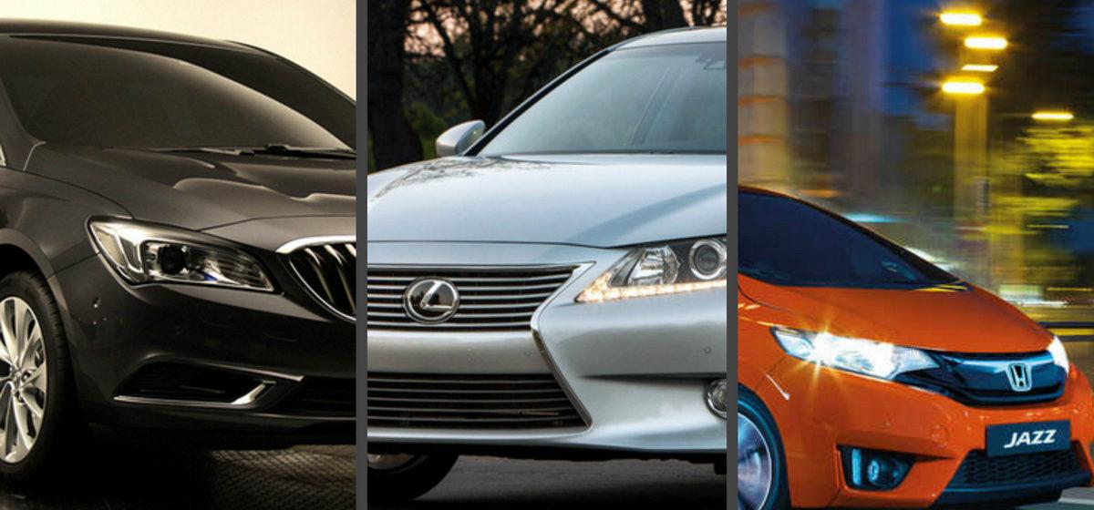 Названы пять самых надежных автомобилей