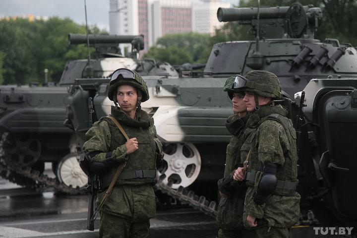 В Беларуси начались военные учения «Запад-2017»