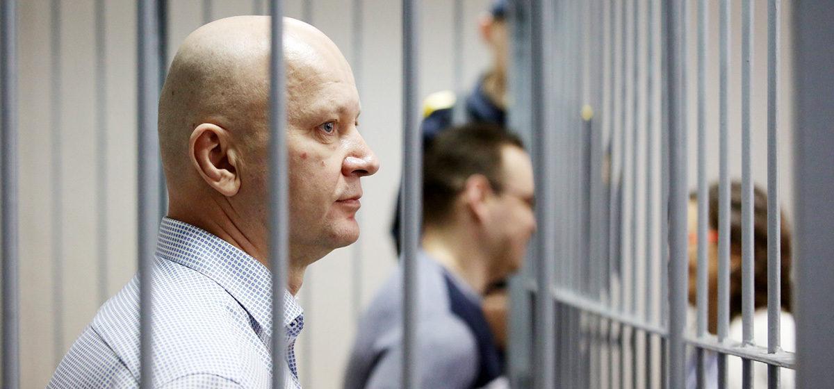 Бывшего замминистра по ЧС Беларуси Дмитрия Бегуна приговорили к 8 годам лишения свободы